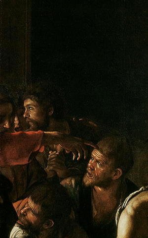 Caravaggio - Resurrection of Lazarus