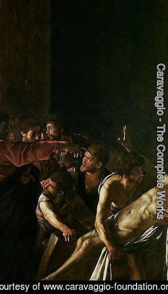 Caravaggio - Resurrection of Lazarus 2