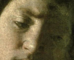David with the Head of Goliath, 1606 (detail)