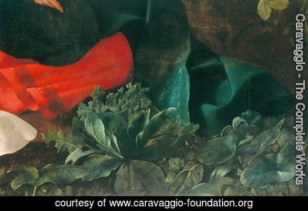 Rest during the flight into Egypt (detail-4)
