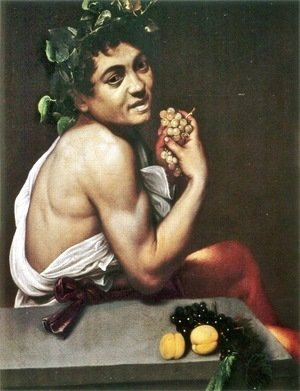 Caravaggio - The Sick Bacchus, 1591
