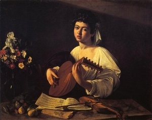 Caravaggio - The Lute-Player