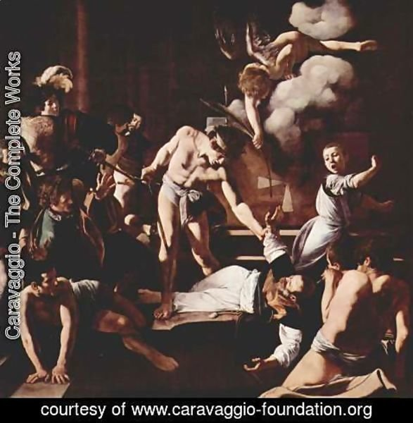 Caravaggio - The Martyrdom of St. Matthew