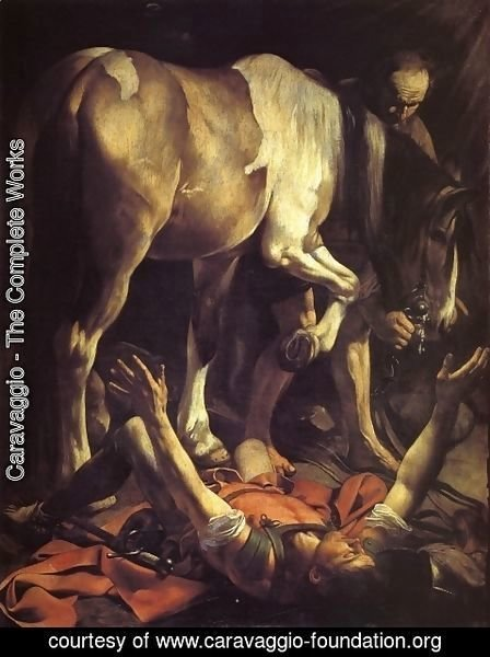 Caravaggio - The Conversion of St Paul