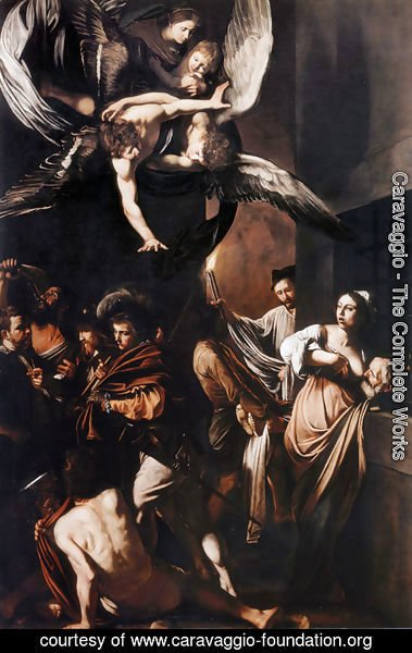 Caravaggio - Seven Works of Mercy