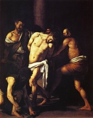 Caravaggio - The Flagellation of Christ