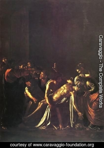 Caravaggio - The Raising of Lazarus