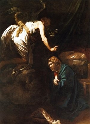 Caravaggio - The Annunciation