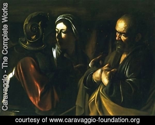 Caravaggio - The Denial of St. Peter