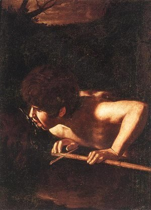 Caravaggio - St. John the Baptist at the Well