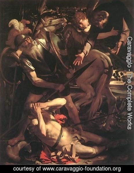 Caravaggio - The Conversion of St. Paul