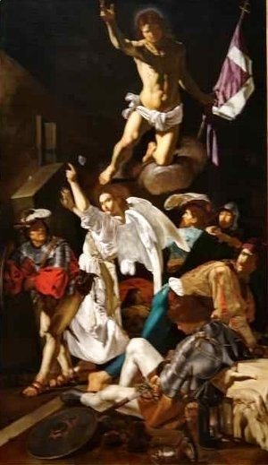 Caravaggio - The Resurrection