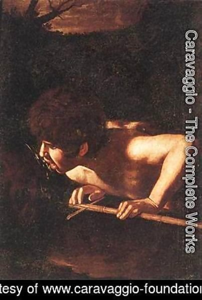 Caravaggio - St John the Baptist at the Well