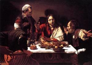 Caravaggio - Supper at Emmaus1