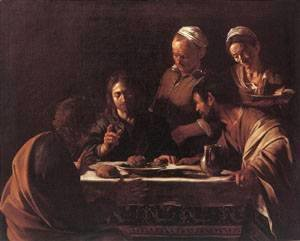 Caravaggio - Supper at Emmaus2