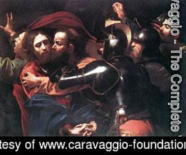 Caravaggio - Taking of Christ