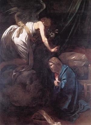 Caravaggio - The Annunciation 2