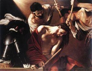 Caravaggio - The Crowning with Thorns1