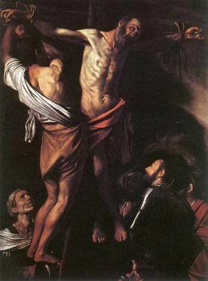 Caravaggio - The Crucifixion of St Andrew