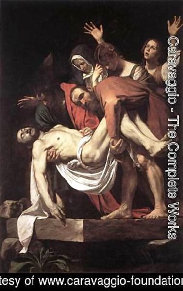 Caravaggio - The Entombment