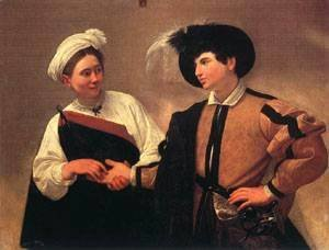 Caravaggio - The Fortune Teller1