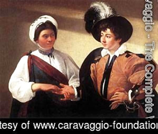 Caravaggio - The Fortune Teller2