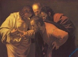 Caravaggio - The Incredulity of Saint Thomas