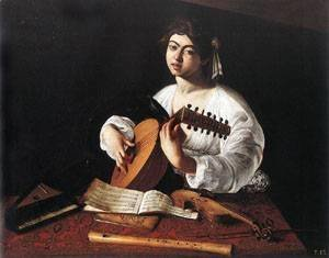 Caravaggio - The Lute Player 2