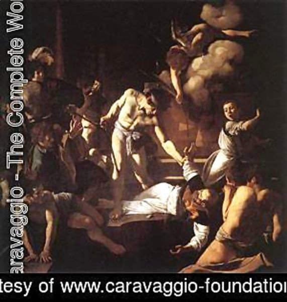 Caravaggio - The Martyrdom of St Matthew