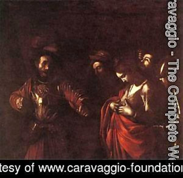 Caravaggio - The Martyrdom of St Ursula