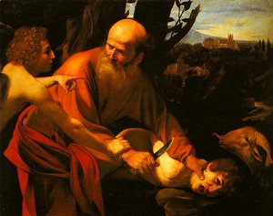 Caravaggio - The Sarifice of Isaac