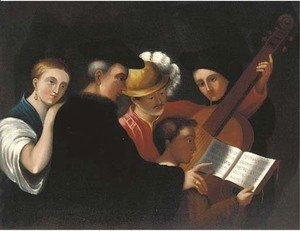 Caravaggio - The music lesson