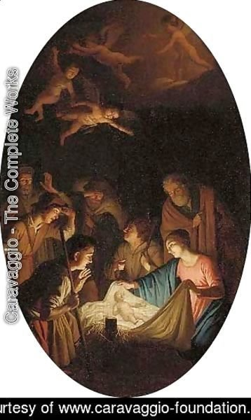 Caravaggio - The Nativity