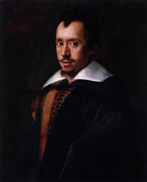 Portrait of the Poet Giambattista Marino