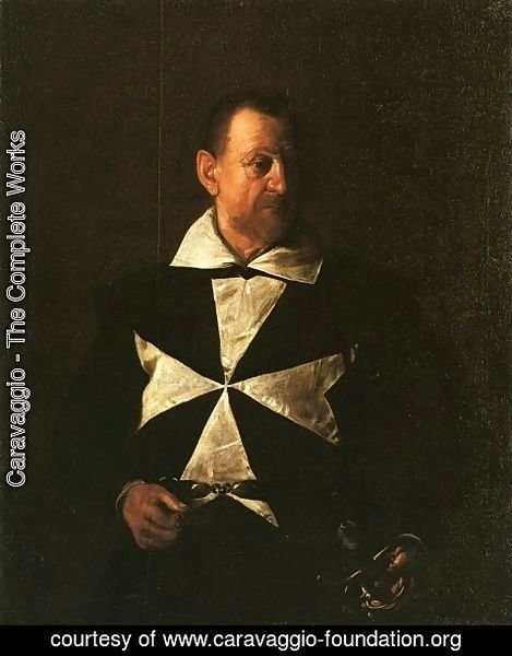 Caravaggio - Portrait of Fra Antionio Martelli