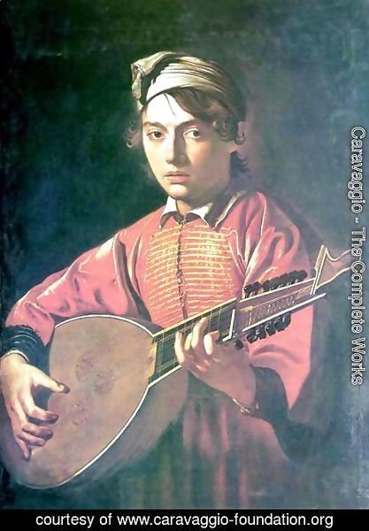 Caravaggio - The lute player 3