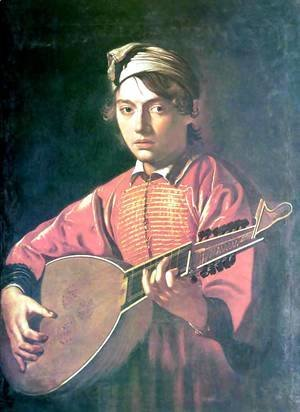 The lute player 3