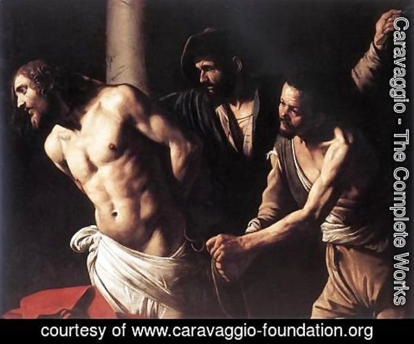 Caravaggio - Christ at the Column c. 1607