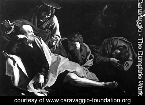 Caravaggio - Christ in the Garden 1603