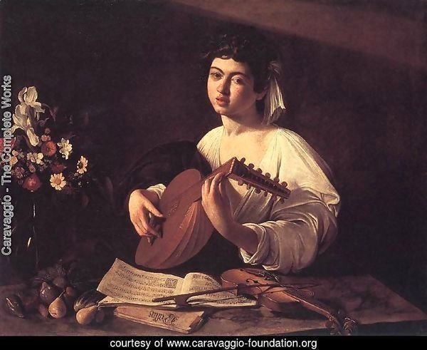 Lute Player c. 1596
