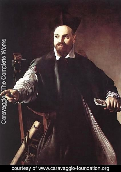 Caravaggio - Portrait of Maffeo Barberini 1599