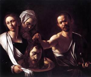 Caravaggio - Salome with the Head of St John the Baptist c. 1607
