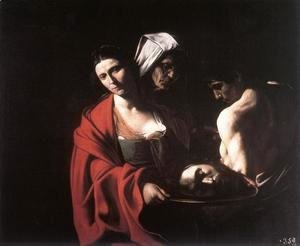 Caravaggio - Salome with the Head of the Baptist c. 1609