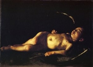 Sleeping Cupid 1608