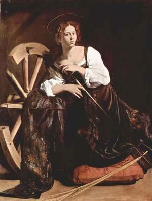 St Catherine of Alexandria c. 1598