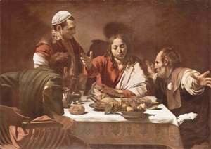 Caravaggio - Supper at Emmaus 1601-02