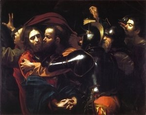 Caravaggio - Taking of Christ c. 1598