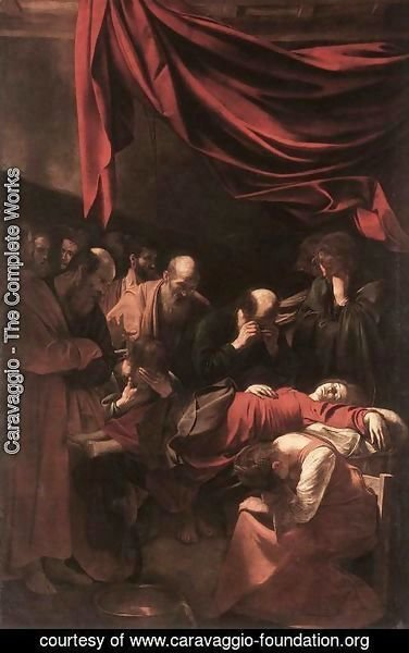 Caravaggio - The Death of the Virgin 1606