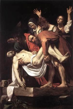 Caravaggio - The Entombment 1602-03