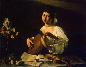 Caravaggio - The Lute Player c. 1600